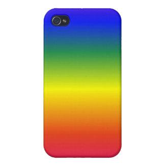 Regenbogen-Speck-Kasten iPhone 4 Etui
