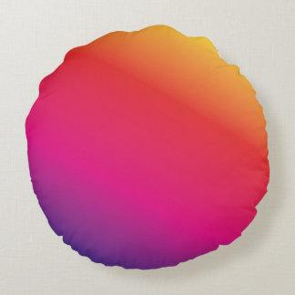 Regenbogen-Spektrum Rundes Kissen
