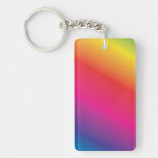 Regenbogen-Spektrum Schlüsselanhänger