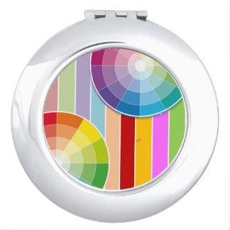 Regenbogen-Spiegel-Vertrag Taschenspiegel