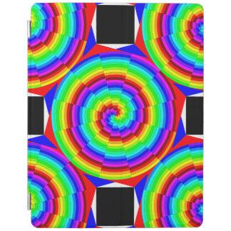 Regenbogen-Spirale durch Kenneth Yoncich iPad Hülle