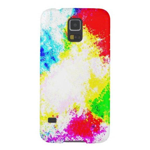 Regenbogen Splats Samsung Galaxy S5 Hülle