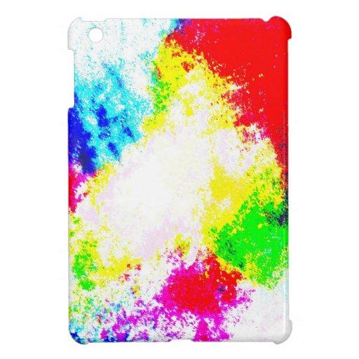 Regenbogen Splats iPad Mini Etui