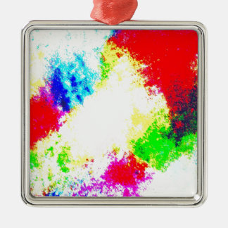 Regenbogen Splats Weihnachtsbaum Ornamente