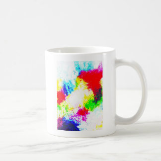 Regenbogen Splats Kaffeehaferl