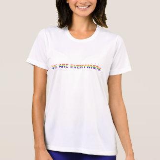 Regenbogen - Sport-Tek Konkurrenten-T - Shirt