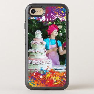 Regenbogen-Spritzen abstrakt OtterBox Symmetry iPhone 7 Hülle