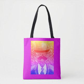 Regenbogen-Spritzer-Mann-Taschen-Tasche Tasche