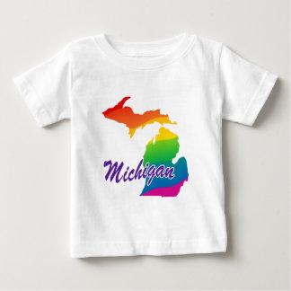 Regenbogen-Staat von Michigan Baby T-shirt