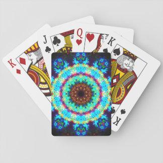 Regenbogen Stargate Mandala Spielkarten