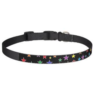 Regenbogen-Starry Starry NachtHundehalsband Haustierhalsband