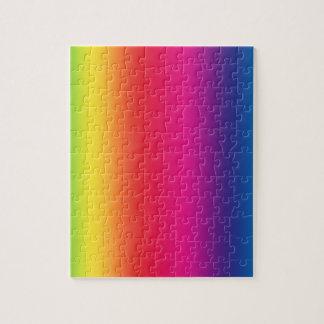 Regenbogen-Steigung Puzzle