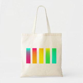 Regenbogen-Steigungs-Tasche Tragetasche