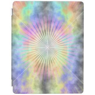 Regenbogen-Stern-Explosions-Horizont iPad Hülle