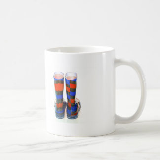 Regenbogen-Stiefel Kaffeetasse