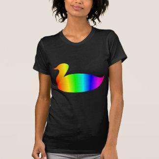 Regenbogen-Stockente T-Shirt