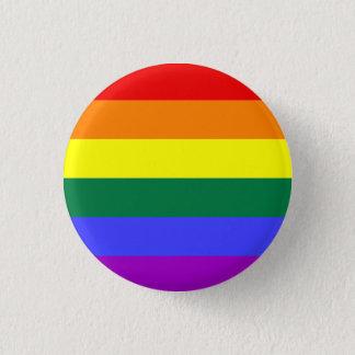 Regenbogen-Stolz-Flaggen-Knopf Runder Button 2,5 Cm