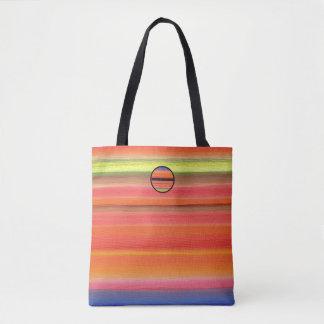 Regenbogen-Streifen-Farbsteigung, Tasche
