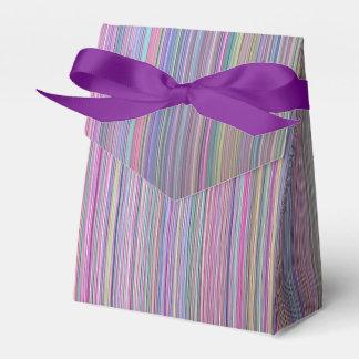 Regenbogen-Streifen-Foto defekten flacher Schirm Geschenkschachtel