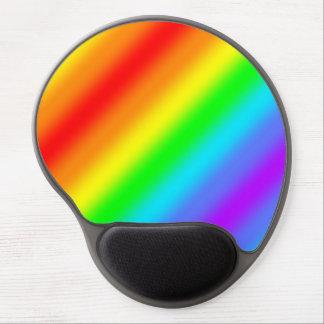 Regenbogen-Streifen Gel Mousepad