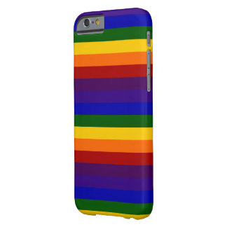 Regenbogen-Streifen Barely There iPhone 6 Hülle