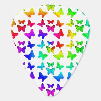 Regenbogen-Strudel-Schmetterlinge Plektrum