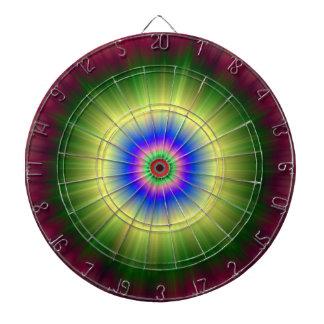 Regenbogen-SupernovaDartboard Dartscheibe