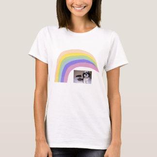 Regenbogen-T - Shirt Shih Tzu