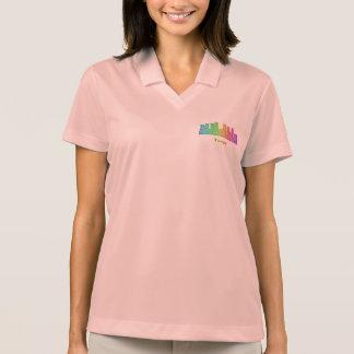 Regenbogen-Tampa-Skyline Polo Shirt
