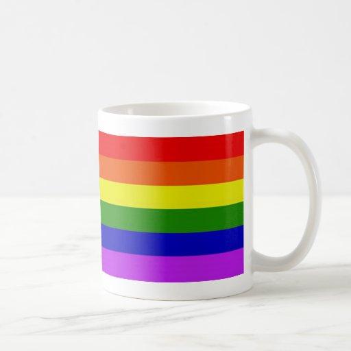 Regenbogen-Tasse