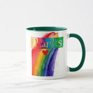 Regenbogen-Tasse Tasse