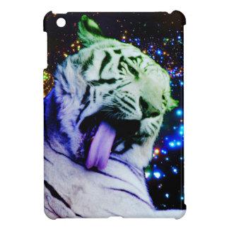 Regenbogen-Tiger iPad Mini Hülle