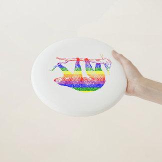 Regenbogen-Trägheit Wham-O entscheidender Frisbee