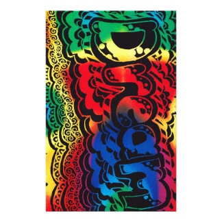 Regenbogen-Traum Briefpapier