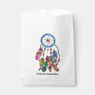 Regenbogen-Traumfänger des Aquarells herrlicher Geschenktütchen