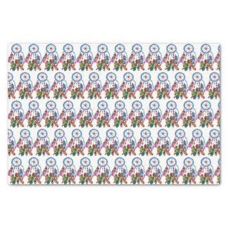 Regenbogen-Traumfänger des Aquarells herrlicher Seidenpapier
