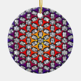 Regenbogen-u. Diamant-Schönheit Keramik Ornament