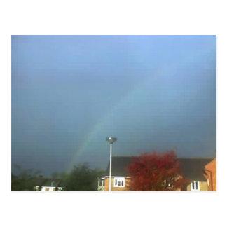 Regenbogen über Tonbridge 21-10-06_0857 Postkarte