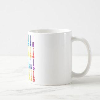 Regenbogen Ukes Kaffeetasse