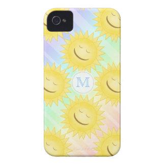 Regenbogen-und Sonnenschein-Kasten iPhone 4 Hüllen