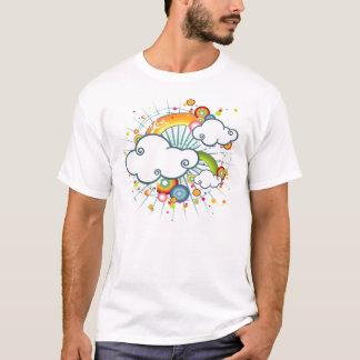 Regenbogen und Wolken T-Shirt
