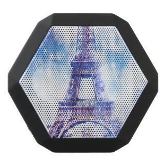 Regenbogen-Universum Paris Schwarze Bluetooth Lautsprecher