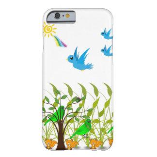 Regenbogen, Vögel, die iphone Kasten für Kinder Barely There iPhone 6 Hülle