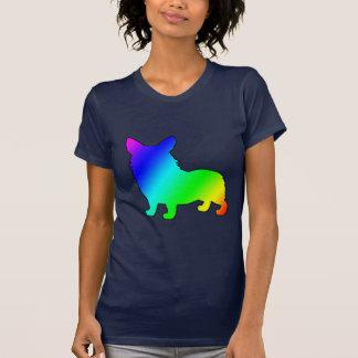 Regenbogen-WaliserCorgi T-Shirt