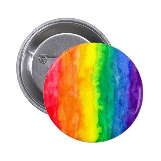 Regenbogen-Wäsche-Knöpfe Runder Button 5,7 Cm