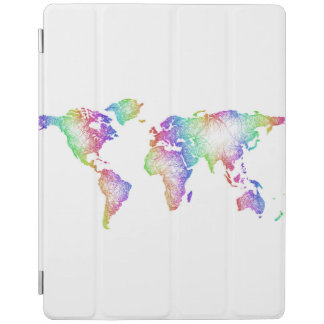 Regenbogen-Weltkarte iPad Smart Cover