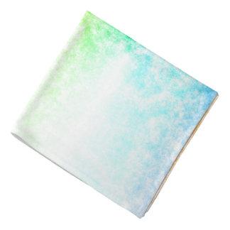 Regenbogen-Wolken-Hintergrund fertigen besonders Kopftuch