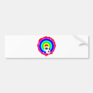 RegenbogenAfro Autosticker