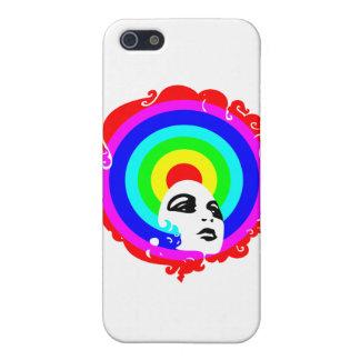 RegenbogenAfro iPhone 5 Hülle