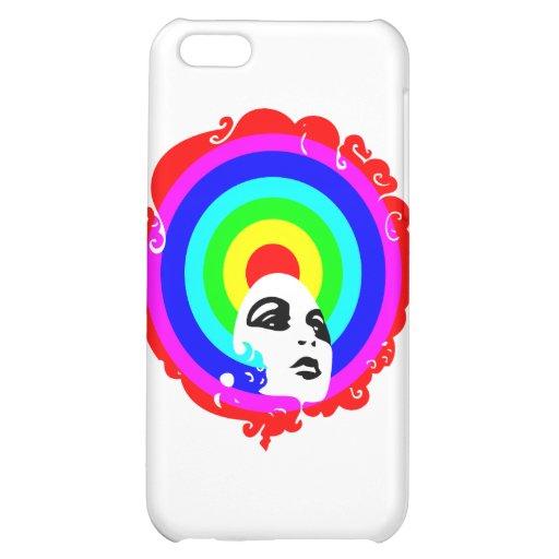 RegenbogenAfro Hüllen Für iPhone 5C